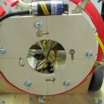Grundplatte auf Träger montiert